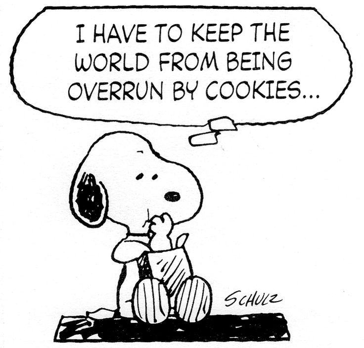 Me too, Snoopy