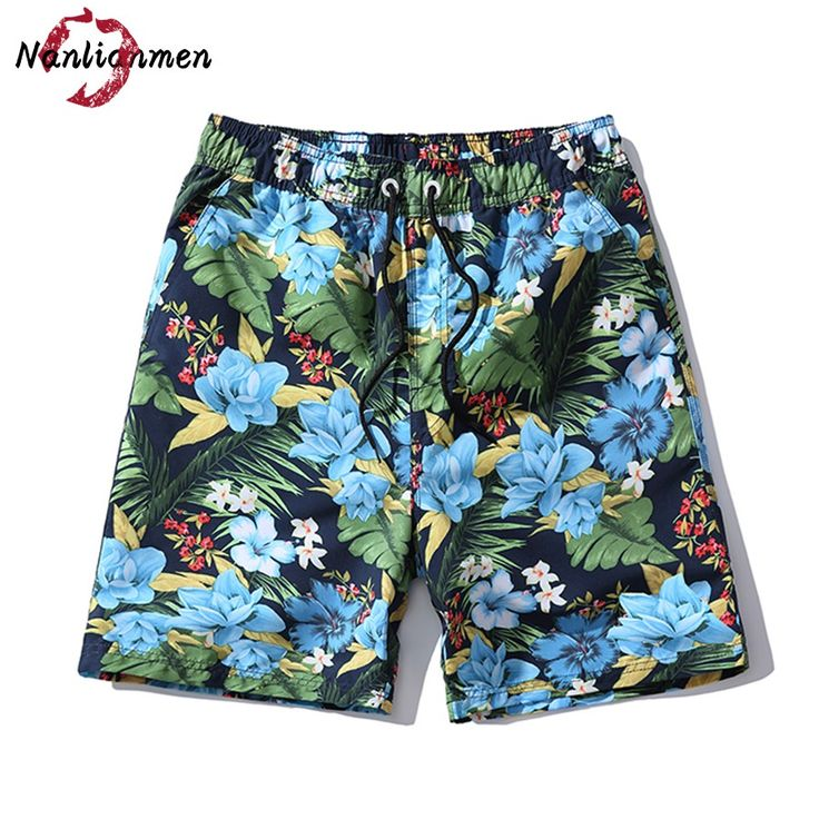 2017 Summer Floral Shorts Men Hawaiian bermudas hombre Mens Shorts Cotton Men's Shorts homme pantalones cortos de los hombres #Affiliate