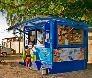 Check out Cuz's Fish Shack, Barbados during your next trip to Island Inn!  It was recently rated one of the world's most amazing restaurants with a view by Travel + Leisure!