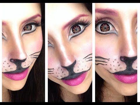 ▶ CAT Make-up Tutorial - Carnevale 2014 - YouTube