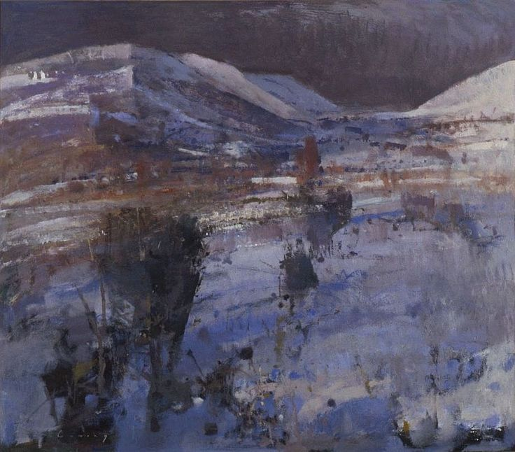 Barrowdale, Winter by Fred Cuming RA