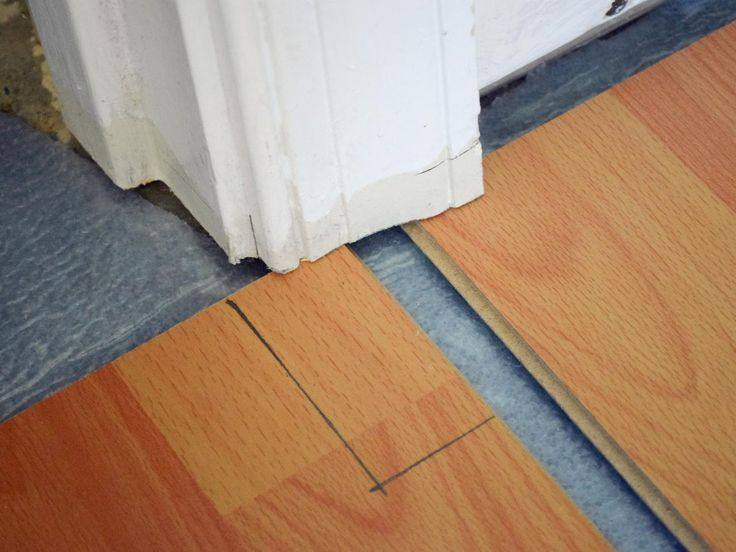 1000 images about how to remove carpeting and install for Diy laminate flooring