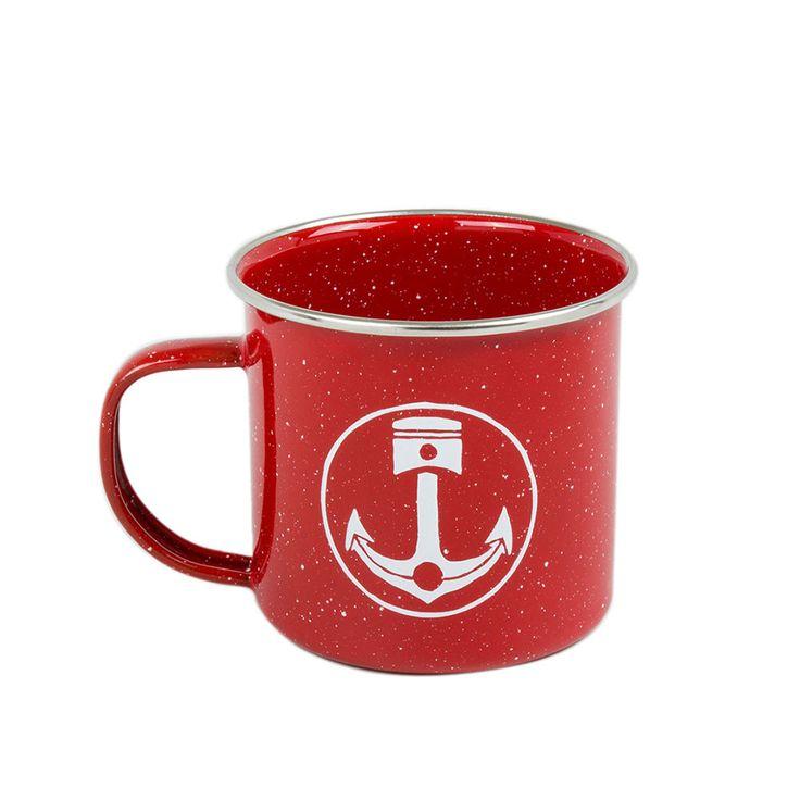 Iron & Resin Camp Mug