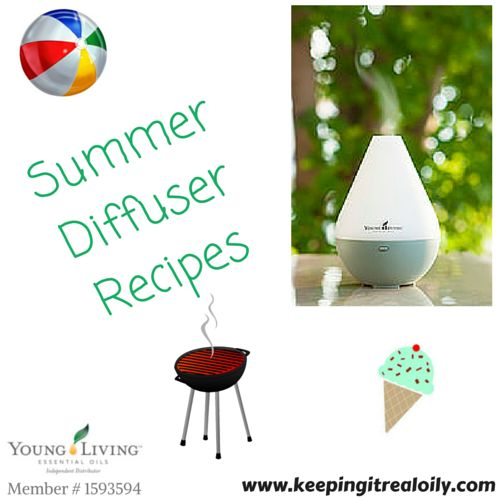 Summer diffuser recipes Essential oil recipes