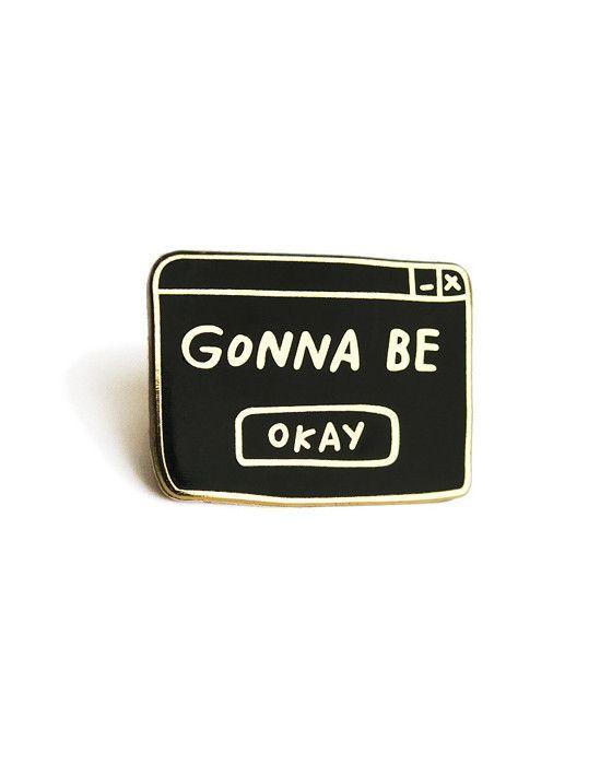 Adam J. Kurtz Okay Lapel Pin, $9.99