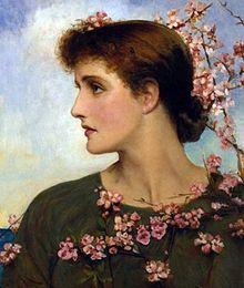 """Phyllis"" by Louise Jopling"