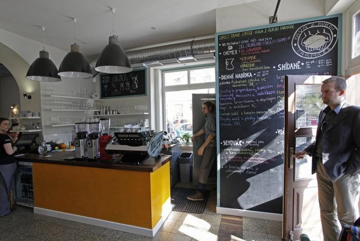 Můj šálek kávy, Křižíkova 105, Praha 8