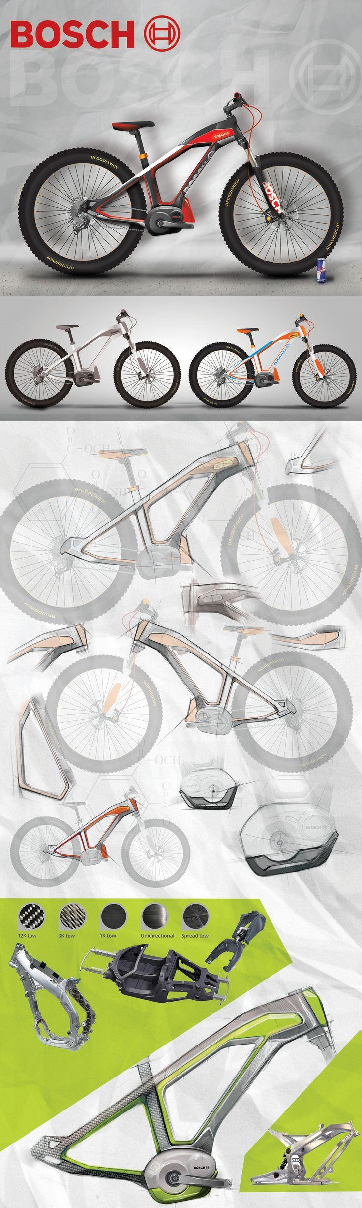 E-bike BOSCH on Behance