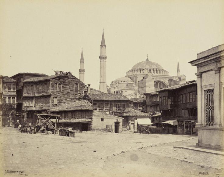Sultanahmet Bölgesi ve Ayasofya Francis Bedford / 22 Mayıs 1862