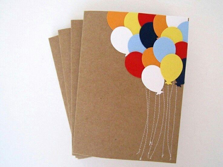Для, как сделать открытку на день рождения своими руками просто