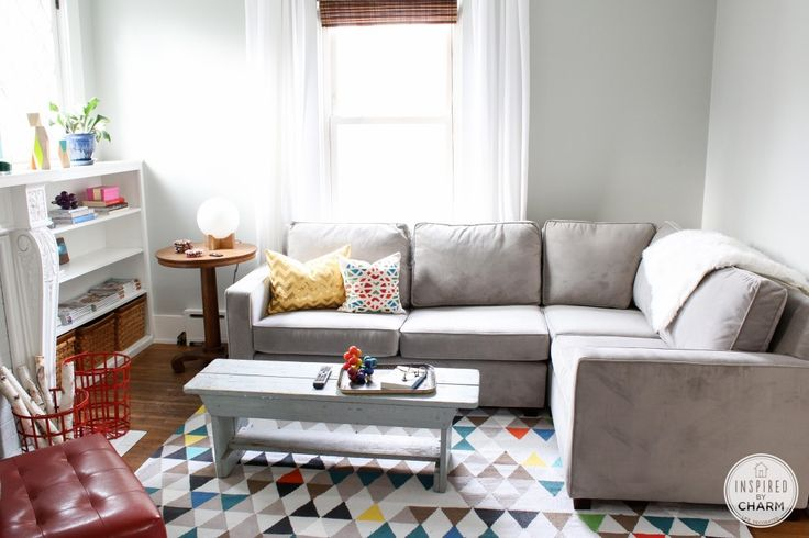 west elm sofa cute small living room living room pinterest. Black Bedroom Furniture Sets. Home Design Ideas
