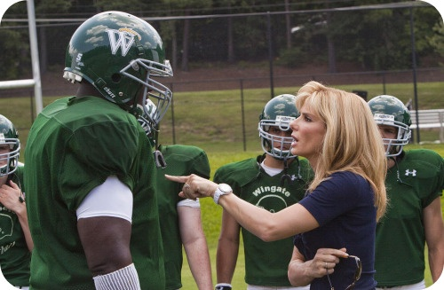"""Blindside: """"This team is your family Michael. When you look at him, you think of me. How you have my back."""""""