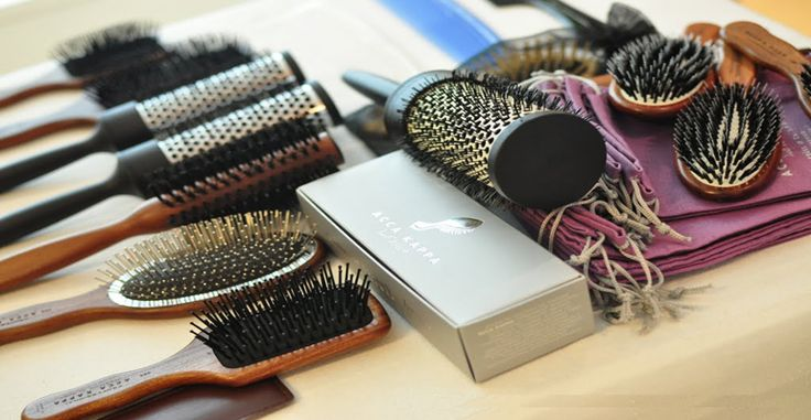 Types of Hair Brush Product Of Acca kappa Company