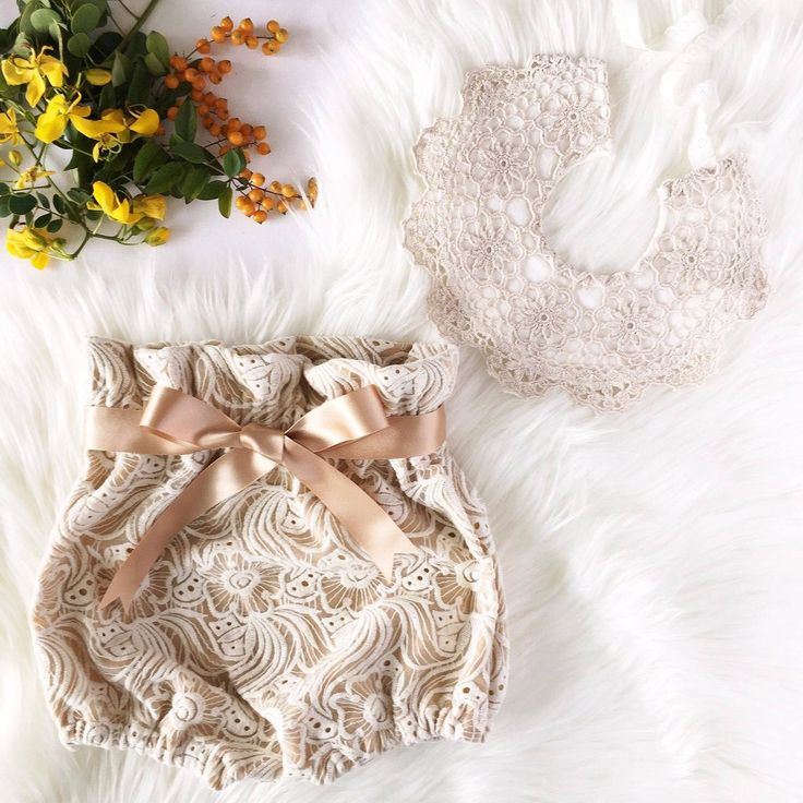 Embroidered Lace Baby and Toddler Bloomers - Boho Luxe Kids Fashion
