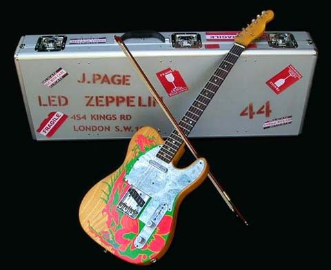 Jimmy Page's Yardbirds/Early Led Zeppelin Fender Dragon Telecaster