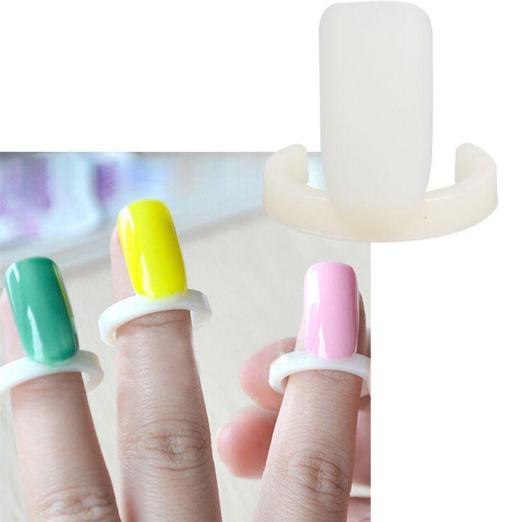 100 pcs False Nails DIY Nail Polish Color Swatch Display Card Ring for Nail Art UV Gel Showing Ring Style Nail Tools