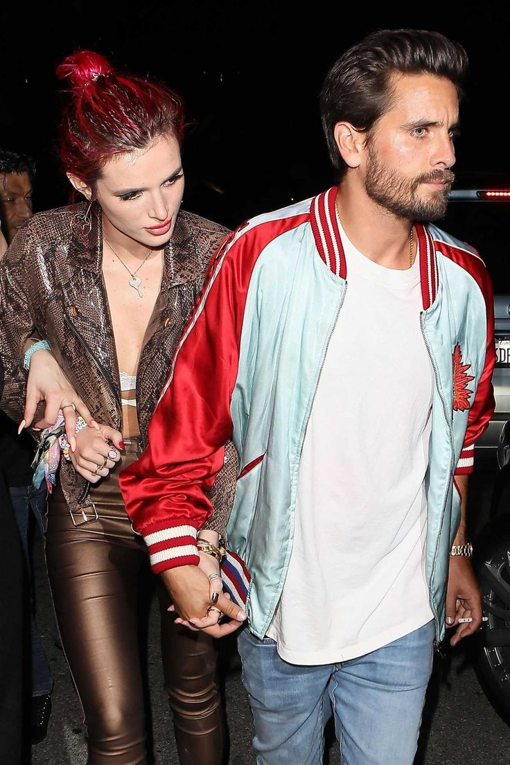 Bella Thorne - leaving Lana Del Rey's birthday party with Scott Disick on June 22