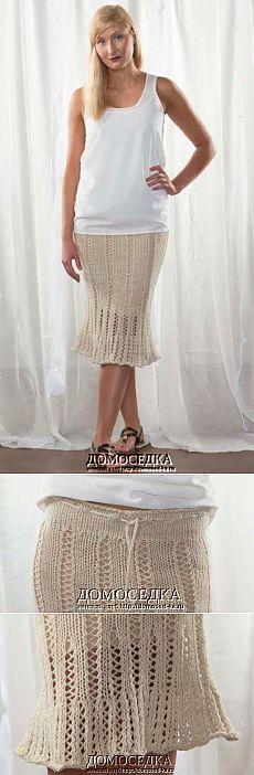 Gonna a maglia per l'estate | casalingo