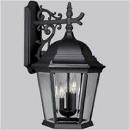 3 Light Outdoor Wall Sconce by Progress Lighting. $195.16. Tuscan 3 Light Outdoor Wall Sconces from the Melbourne CollectionClassic and classy scrollwork adds delicate detail to a strong support arm in this outdoor wall sconce from the Melbourne collection. Brilliant clarity is highlighted in the clear beveled glass panels while the fixture outdoor rated, offering durability and long life in the harsh outdoor elements.Features:Outdoor wall sconceClear beveled glass panelsCandle c...
