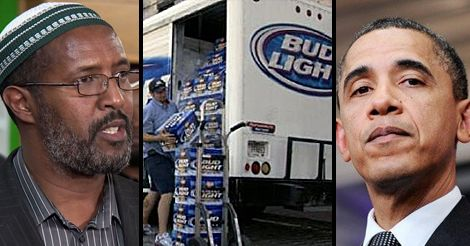 After Muslim Somali Refugee Truckers Refuse to Deliver Beer… Obama Does the Unbelievable, he sided with muslims to enforce sharia law on an American business leaving FoxNews anchors stunned.- (clic on pic & watch short video)