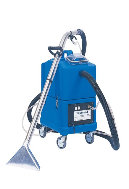 Carpet extractor TP8X: Powerful carpet extractor with 8 gallons of capacity