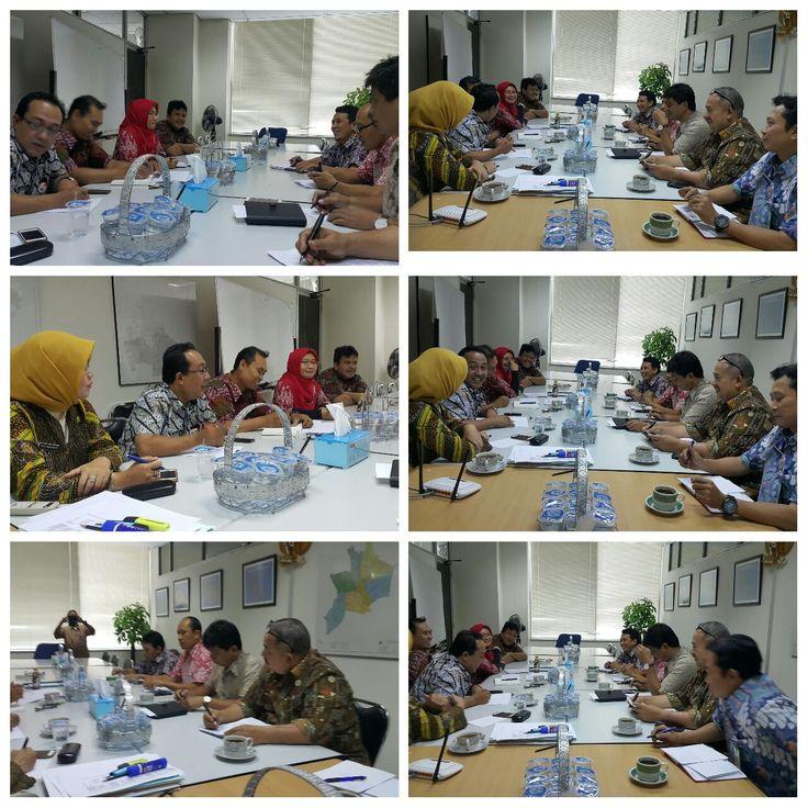 Rapat Koordinasi SBPRD dan UPPRD Jakarta Pusat