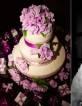Originales centros de mesa con arreglos frutales para decoración de boda