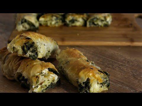 Εύκολη Σπανακόπιτα με σπιτικό φύλλο - Eady Homemade Spinach Pie - YouTube
