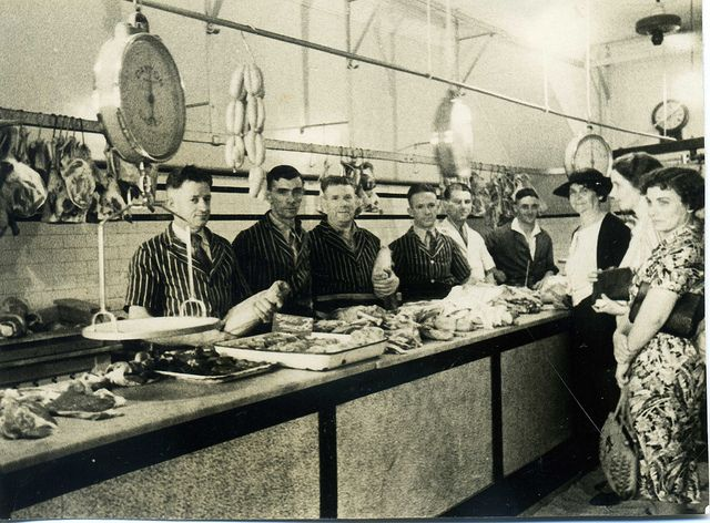 Serving Counter, Shaw's Butchery, Katoomba
