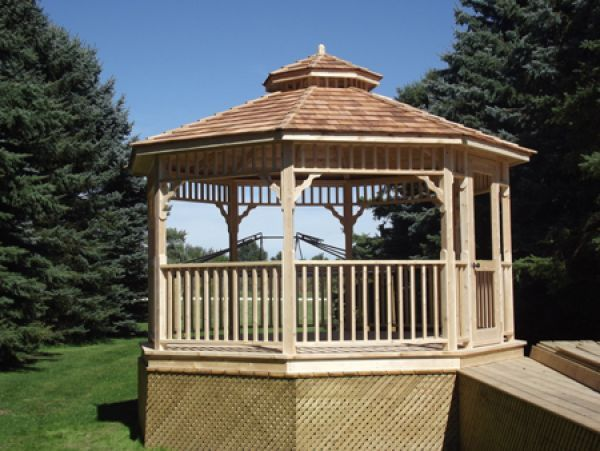 17 best images about gazebo kits and hot tub shelters on for Hot tub shelter plans