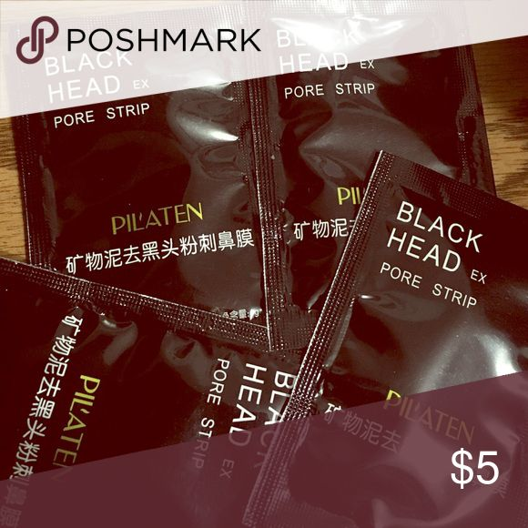 Black head pore strips 🎭 Charcoal masks for black heads. 4 pkts. Other