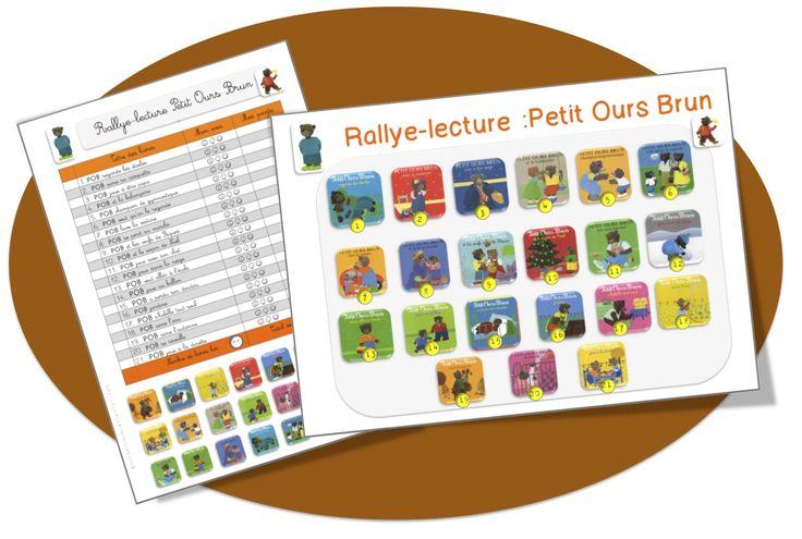 Rallye Petit Ours Brun CP