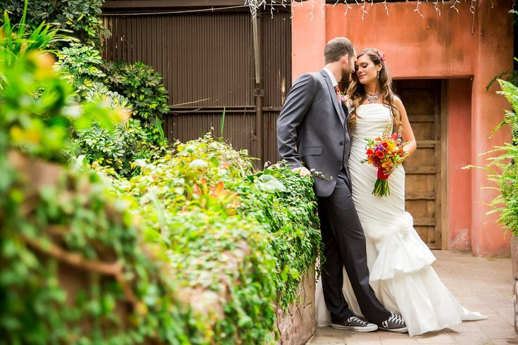 A Vibrant, Mexican Inspired Wedding at Aunt Chiladas Mexican Restaurant in Phoenix, Arizona