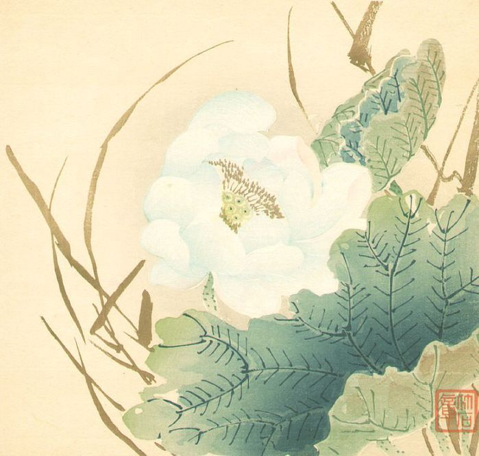 White Lotus Flower, 1900 (700x666, 66Kb)Что такое Ваби-Саби?  Простота и утонченность – японские идеалы красоты, всегда считались эстетическими качествами, присущими японской культуре, и были важнейшими особенностями жизни японцев с древних времен.  Традиционная японская архитектура, например, казалась упрощенной, потому что упор делался на свободное пространство, отсутствие украшений и спокойные приглушенные тона. Тем не менее, таким постройкам была свойственна элегантная красота. Подобные…