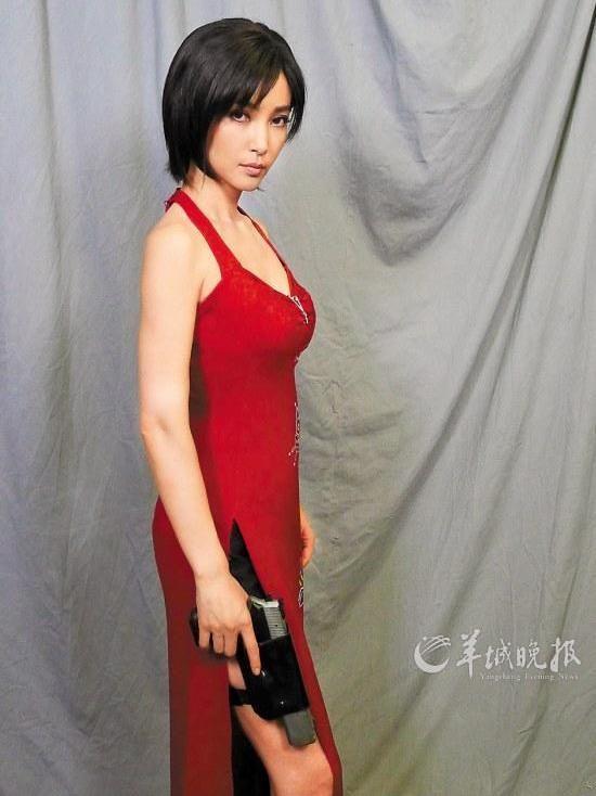 Li Bingbing as Ada Wong in Resident Evil: Retribution ...