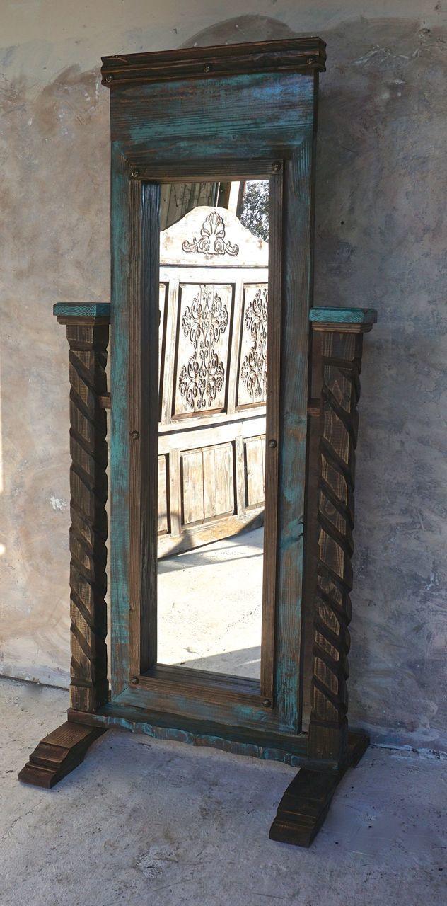 Santa Cruz Mirror. Rustic FurnitureSanta CruzMirrors