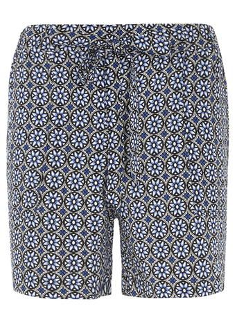 Tall Geo-Patch Printed Shorts