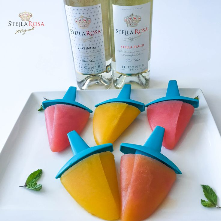 COOL OFF WITH STELLA ROSA WINESICLES!