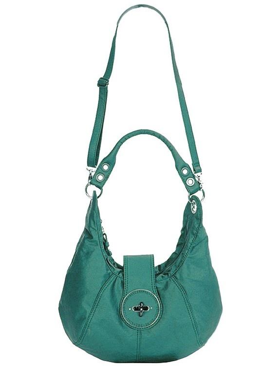 Diesel bag Turquoise (pink inside) - LOVE IT!