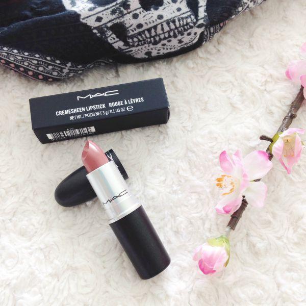 Mac 'Modesty' lipstick #mac #lipstick #haul #beautyblog