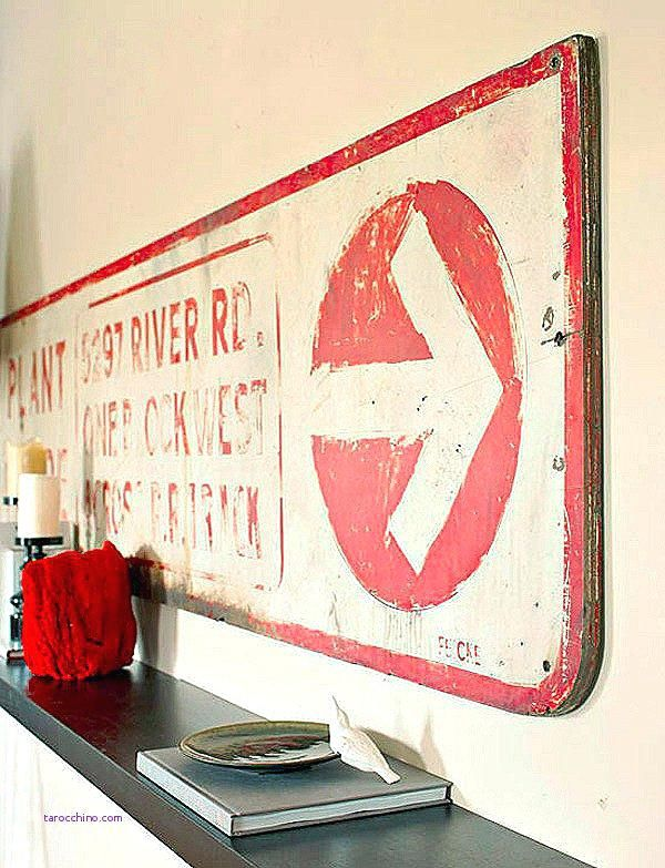 Large Vintage Metal Signs Large Vintage Signs Wall Decor Beautiful