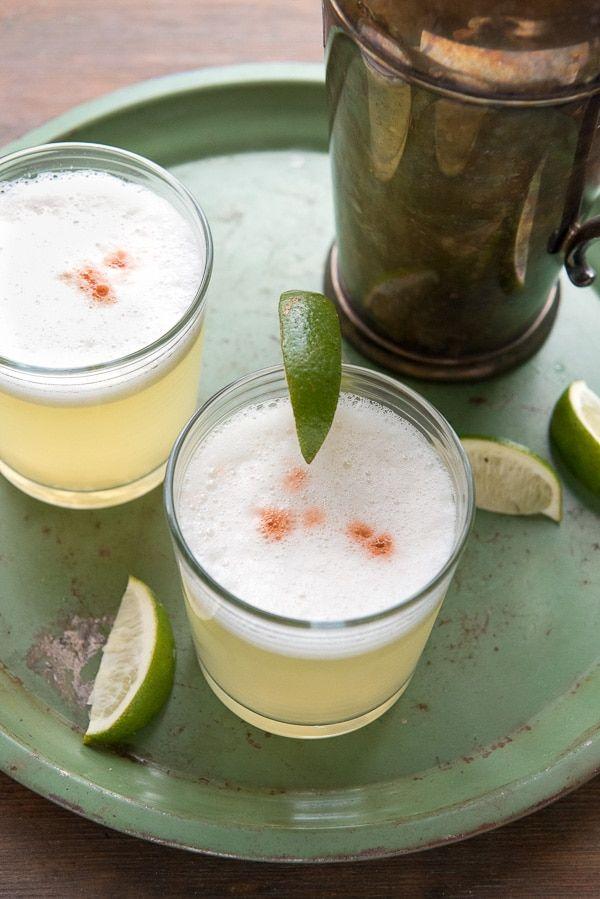 Peruvian Pisco Sour cocktail -  BoulderLocavore.com