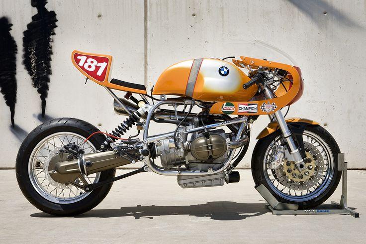 Brutal BMW R80 ST Cafe Racer ''Daytona'' XTR Pepo #motorcycles #caferacer #motos   caferacerpasion.com