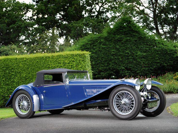 1935 Riley 1½-Litre Kestrel Drophead Coupe