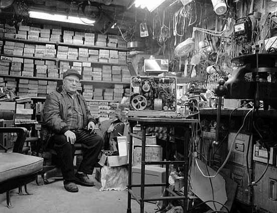 Al Herman, National Camera Exchange, Golden Valley, MN, 1971  No Photoshop here!  Photo via Old Minneapolis
