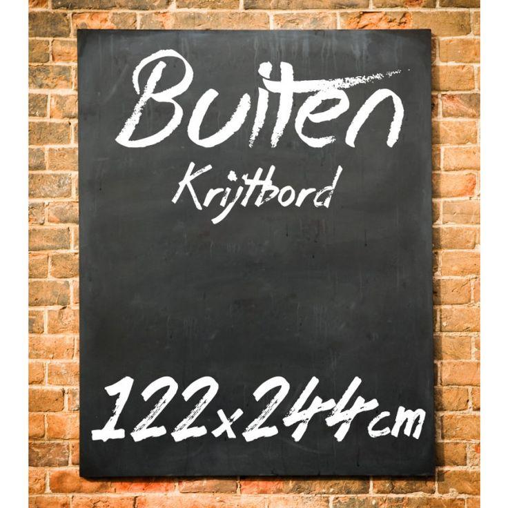 Krijtbord Buiten 122x244 cm