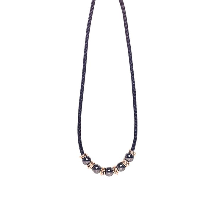 Short necklace. Ancient world meets Industrial revolution with a contemporary twist. www.labordeshop.com