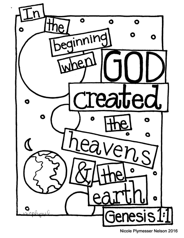 christian family coloring pages - photo#41