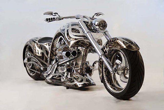 Scrape Motorcycle Paint Job