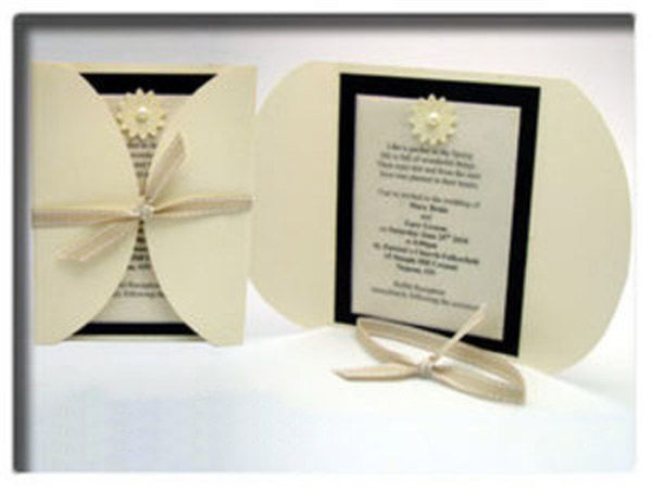 Wedding Invitations Make Your Own: Easy To Make Your Own Invitations. Print Center Section